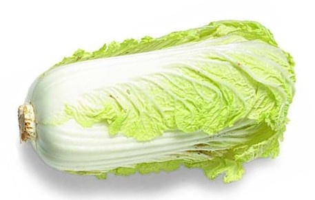 Chinese cabbage nutritional information